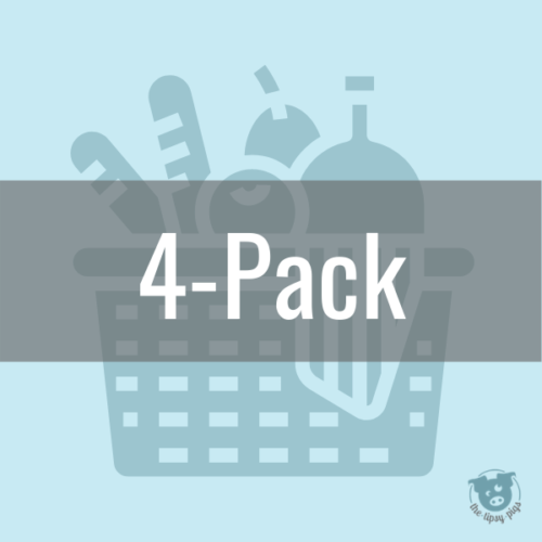4 pack subscription meal