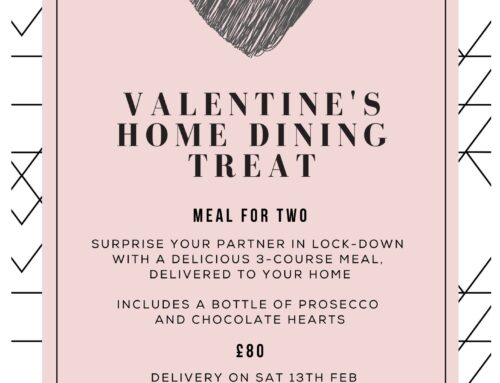 Valentines Home Dining Treat